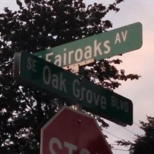 Visiting my old neighborhoods.