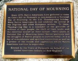 Dismantle Thanksgiving Myths on Day of Mourning during Covid-19
